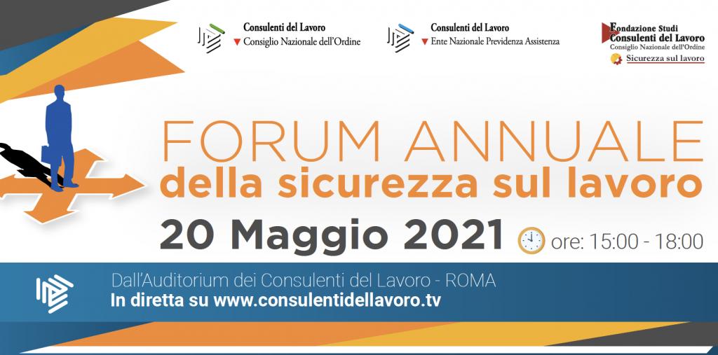 Forum sicurezza consulenti lavoro